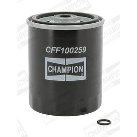 Kraftstofffilter Höhe: 102mm mit OEM-Nummer 601.090.03.52