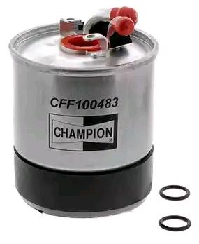 Inline fuel filter CHAMPION CFF100483 4044197762507