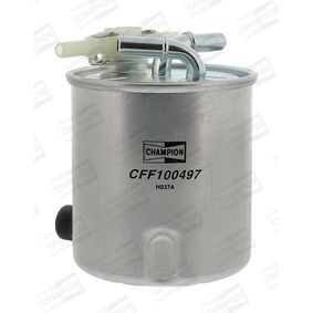 Fuel filter Height: 120mm with OEM Number 16400JY09D