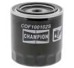 CHAMPION Ölfilter COF100102S für FORD SCORPIO I (GAE, GGE) 2.9 i ab Baujahr 09.1986, 145 PS