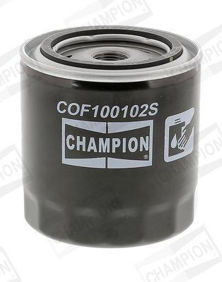 Ölfilter CHAMPION COF100102S 4044197762910
