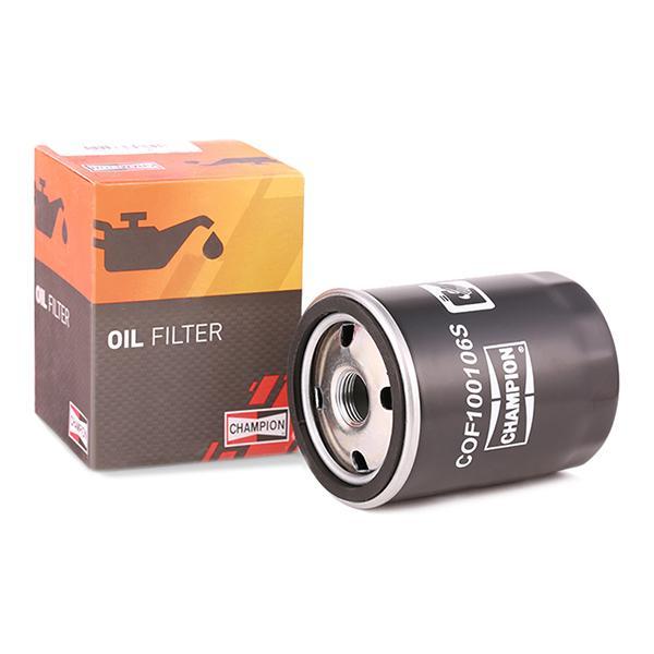 Ölfilter CHAMPION COF100106S Erfahrung