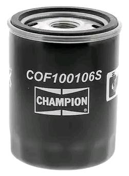 Ölfilter CHAMPION COF100106S 4044197762941