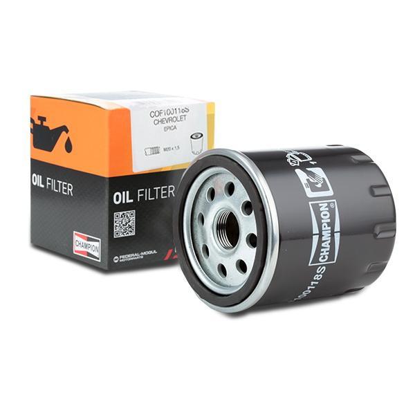 Filtro de aceite de motor CHAMPION COF100118S conocimiento experto