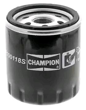Filtro de aceite de motor CHAMPION COF100118S 4044197763283