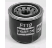 Filtro de aceite CHAMPION COF100119S Filtro enroscable