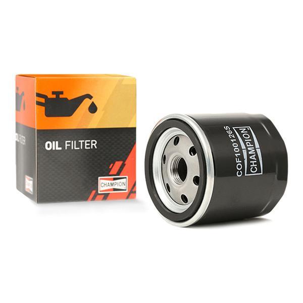 Ölfilter CHAMPION COF100126S Erfahrung