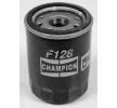 FIAT STILO Olejový filtr: CHAMPION COF100128S