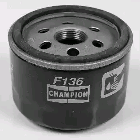 Olejový filtr CHAMPION COF100136S odborné znalosti