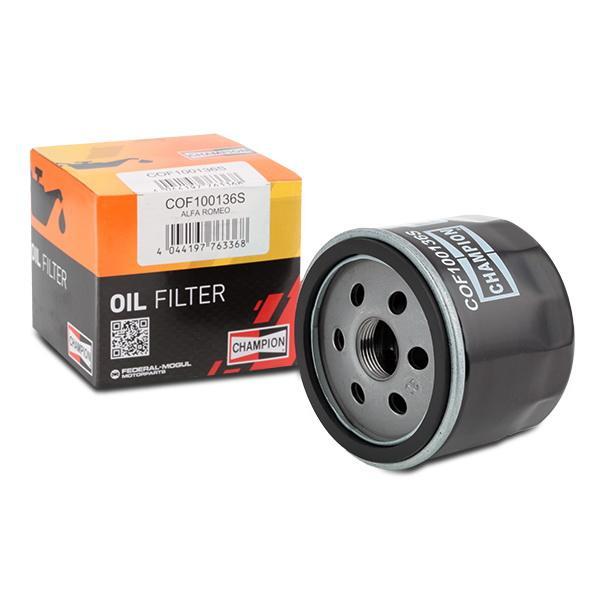Olejový filtr CHAMPION COF100136S 4044197763368