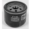 Olejový filtr COF100136S CHAMPION našroubovaný filtr R: 76mm, Výška: 52mm