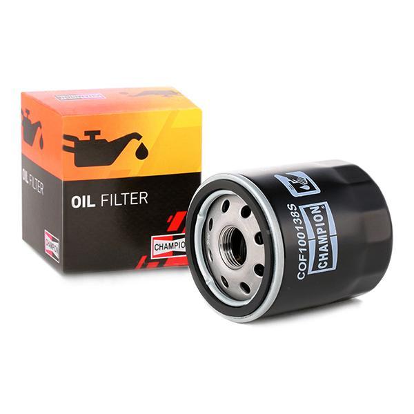 Ölfilter CHAMPION COF100138S Erfahrung