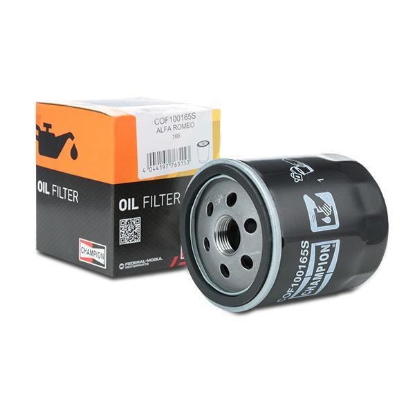 Filtro olio motore CHAMPION COF100165S 4044197763153