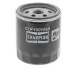 Oil filter MAZDA 2 (DY) 2006 year COF100165S CHAMPION Screw-on Filter