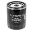 Oil filter MAZDA 6 Saloon (GJ, GL) 2013 year COF100182S CHAMPION Screw-on Filter