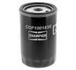 CHAMPION Olejový filtr SKODA našroubovaný filtr