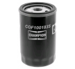 Oil filter MAZDA 2 (DY) 2007 year COF100183S CHAMPION Screw-on Filter