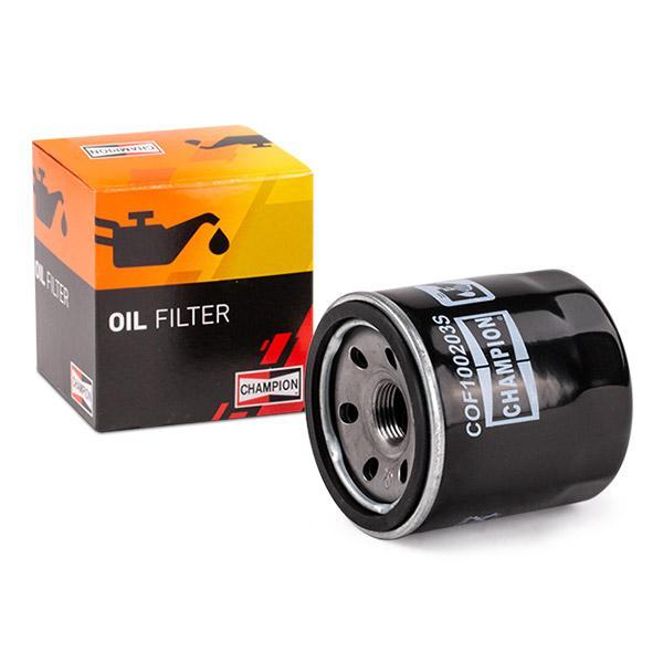Ölfilter CHAMPION COF100203S Erfahrung
