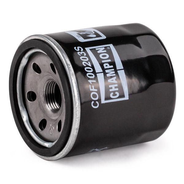 Ölfilter CHAMPION COF100203S 4044197798735
