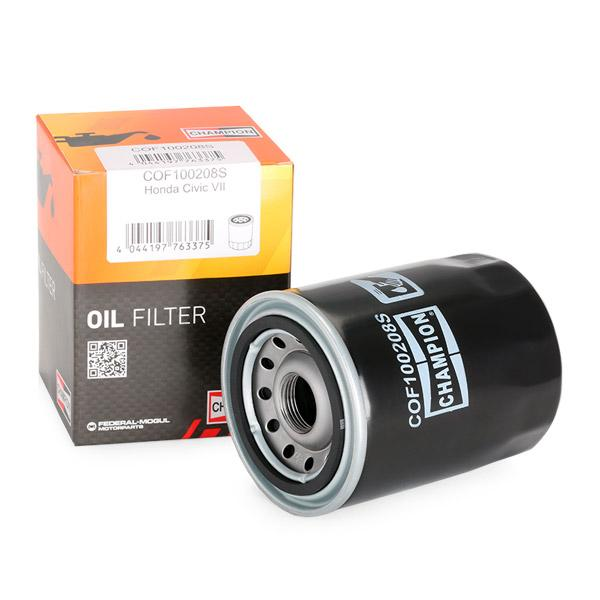 Ölfilter CHAMPION COF100208S 4044197763375