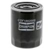 Oil filter HONDA CIVIC 7 Hatchback (EU, EP, EV) 2001 year COF100208S CHAMPION Screw-on Filter