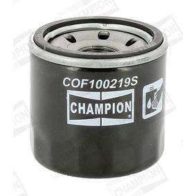 CHAMPION  COF100219S Ölfilter Ø: 68mm, Höhe: 66mm