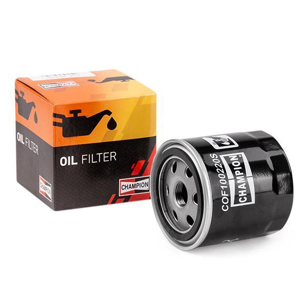 Ölfilter CHAMPION COF100220S Erfahrung