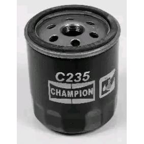 Filtre à huile Ø: 76,0mm, Diamètre intérieur: 71,0mm, Hauteur: 87,0mm avec OEM numéro 4434791