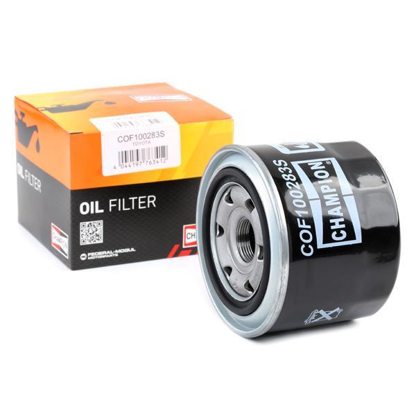 Ölfilter CHAMPION COF100283S Erfahrung