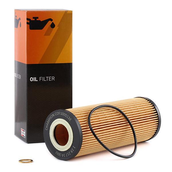 Ölfilter CHAMPION COF100513E Erfahrung