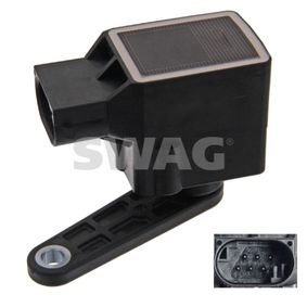 SWAG Sensor, Xenonlicht (Leuchtweiteregulierung) 20 93 6921 für BMW 5 (E60) 530 xi ab Baujahr 01.2007, 272 PS