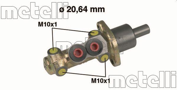 METELLI  05-0207 Brake Master Cylinder