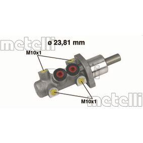 METELLI Hauptbremszylinder 05-0247 für AUDI 80 (8C, B4) 2.8 quattro ab Baujahr 09.1991, 174 PS