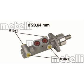 Brake Master Cylinder 05-0289 PUNTO (188) 1.2 16V 80 MY 2006