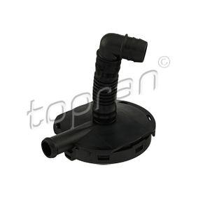 Valve, engine block breather with OEM Number 077 103 245 C