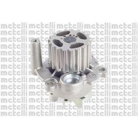 METELLI Wasserpumpe 24-0879 für AUDI A3 (8P1) 1.9 TDI ab Baujahr 05.2003, 105 PS