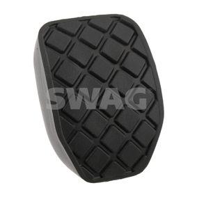 SWAG Pedalbelag, Bremspedal 30 92 8636 für AUDI A4 (8E2, B6) 1.9 TDI ab Baujahr 11.2000, 130 PS