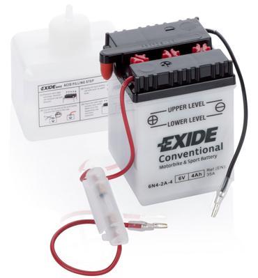 Starterbatterie 6N4-2A-4 EXIDE 6N4-2A-4 in Original Qualität