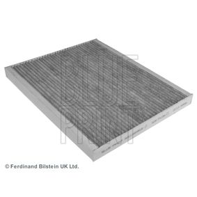 Filter, Innenraumluft Länge: 265mm, Breite: 218,0mm, Höhe: 21mm mit OEM-Nummer 18 08 012