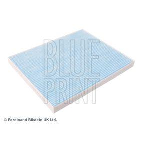 Filter, Innenraumluft Länge: 265mm, Breite: 215,0mm, Höhe: 21mm mit OEM-Nummer 055702456