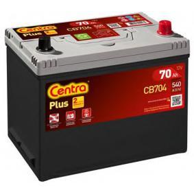 CENTRA Starterbatterie B9 , 70 Ah , 12 V , 540 A , Bleiakkumulator