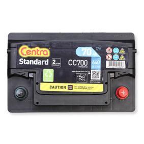 CENTRA Starterbatterie B13 , 70 Ah , 12 V , L3 , 640 A , Bleiakkumulator
