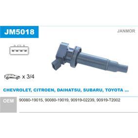 Zündspule mit OEM-Nummer 90080 19019