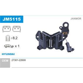 Bobina de encendido JM5115 GETZ (TB) 1.3 i ac 2003