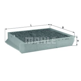 Filter, Innenraumluft Breite: 242,0mm, Höhe: 43,0mm mit OEM-Nummer 9171757