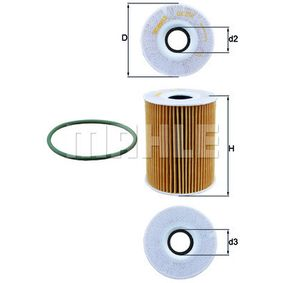 Ölfilter Ø: 83,0mm, Innendurchmesser 2: 29,0mm, Höhe: 108,0mm mit OEM-Nummer 948 107 022 00