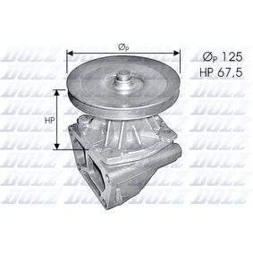Wasserpumpe mit OEM-Nummer 71737970
