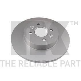 Bremsscheibe Bremsscheibendicke: 12,00mm, Felge: 4,00-loch, Ø: 280mm mit OEM-Nummer 7701 207 227
