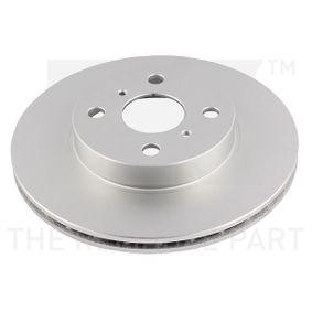 Disque de frein Epaisseur du disque de frein: 18,00mm, Jante: 4,00Trou, Ø: 254mm avec OEM numéro 43512 16130
