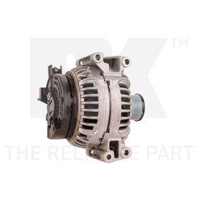 Generator mit OEM-Nummer 014 154 0702
